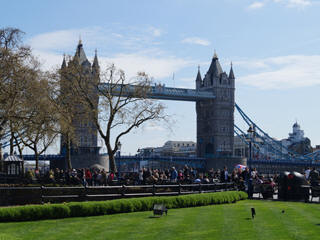 London Tower Bridge marathon